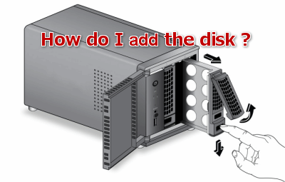howto add disk