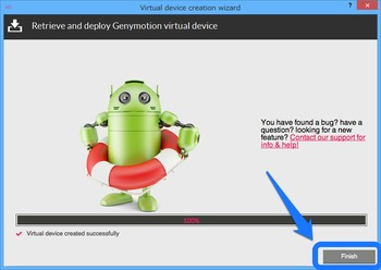 Genymotion仮想マシンの追加4