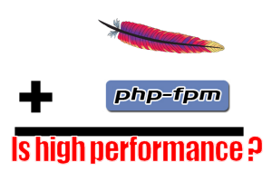 apache php-fpm