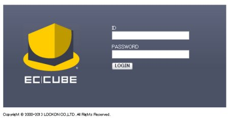 EC-CUBE ログイン