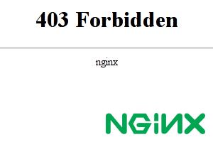 nginx access denied