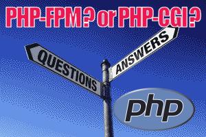 php-fpm php-cgi