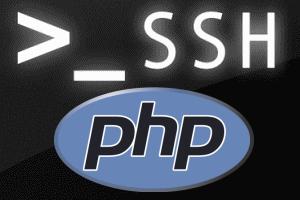 php ssh2