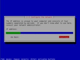Ubuntu  インストール IPアドレス設定