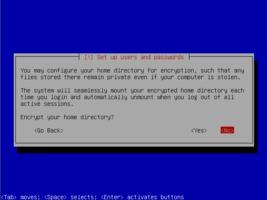 Ubuntu  インストール ホーム暗号化