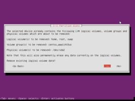 Ubuntu  インストール パーティション