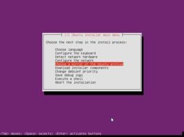 Ubuntu  インストール ミラーサイトエラー