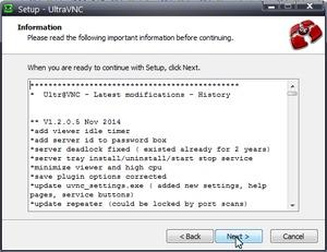 UltraVNCインストール3