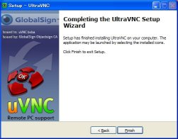 UltraVNCインストール13