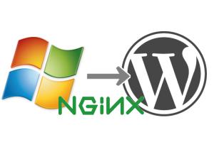 wordpress windows nginx